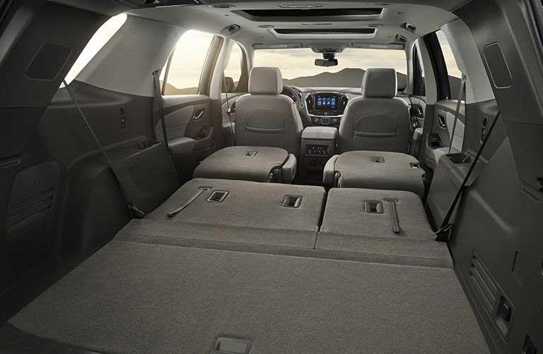 Chevy Traverse rear cargo area