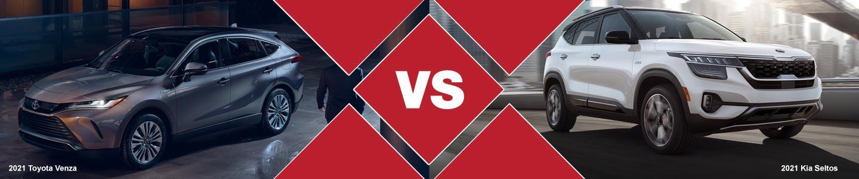 2021 Toyota Venza vs 2021 Kia Seltos Compact SUV Comparison