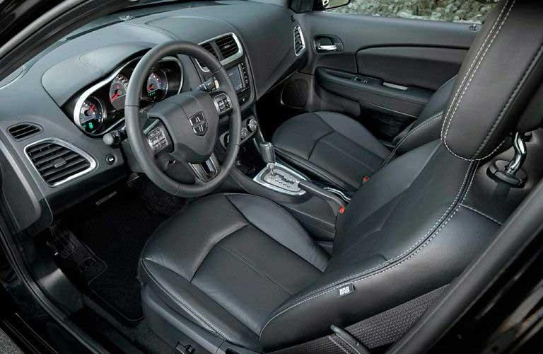 Dodge Avenger front interior passenger seats