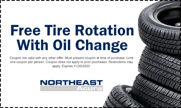 Tire Rotation with Oil Change