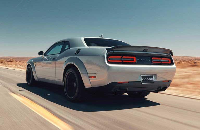 Dodge Challenger rear profile