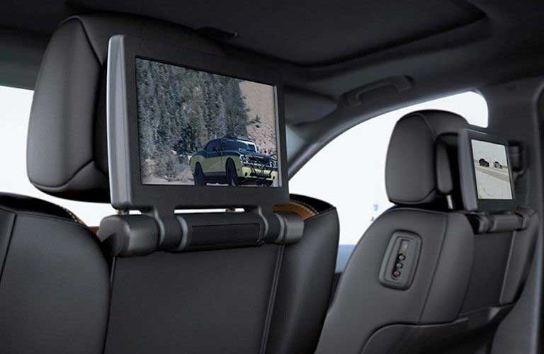 Dodge Durango rear seat Blu-Ray™ entertainment system