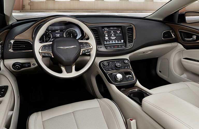 Chrysler 200 front interior