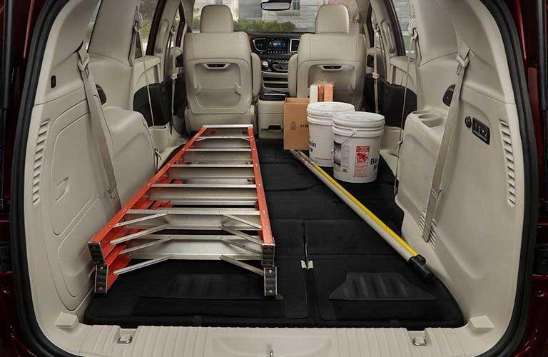 Chrysler Pacifica rear cargo area