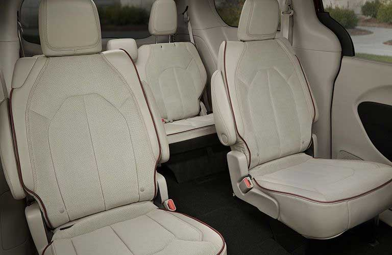 Chrysler Pacifica rear passenger seats