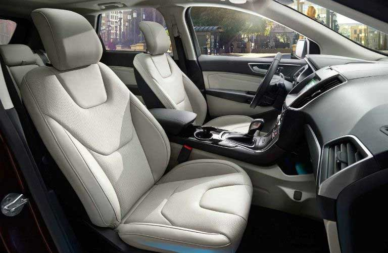 Ford Edge front interior passenger seats