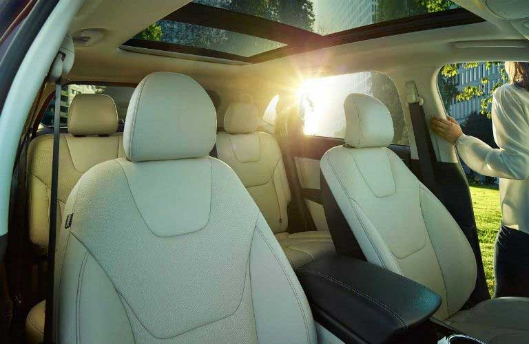 Ford Edge interior passenger area