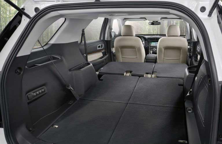 Ford Explorer rear cargo area