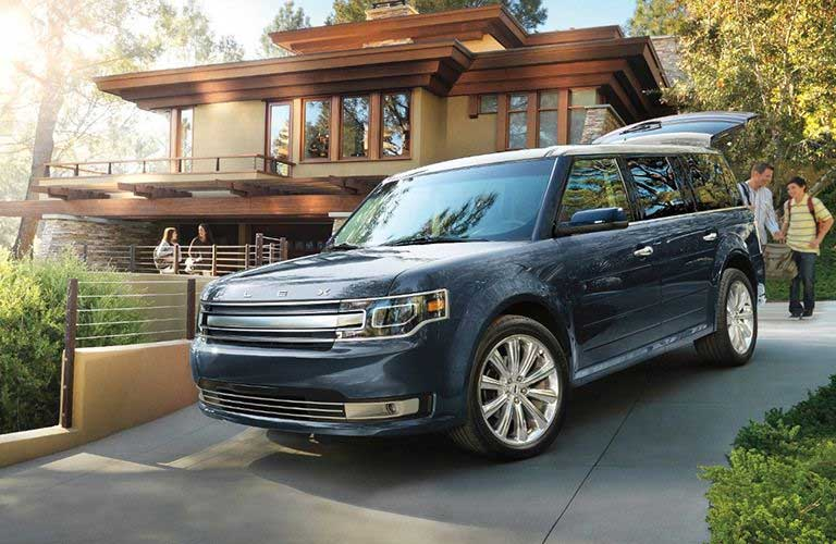 Ford Flex parked in a driveway