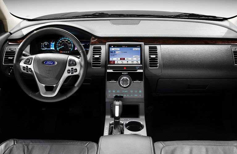 Ford Flex dashboard