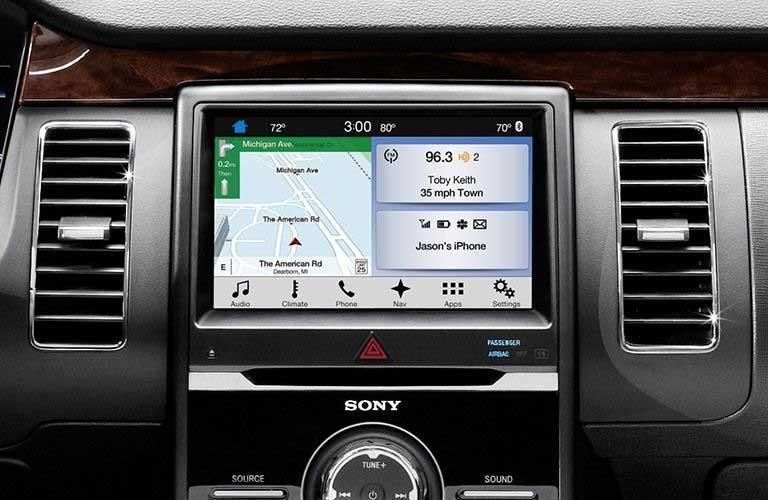 Ford Flex infotainment system