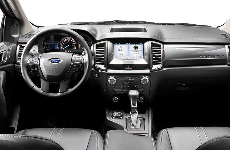 2019 Ford Ranger dashboard features