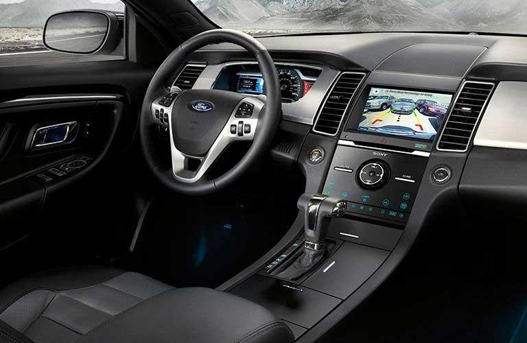 Ford Taurus front interior