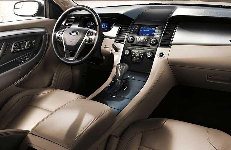 Ford Taurus front interior dashboard