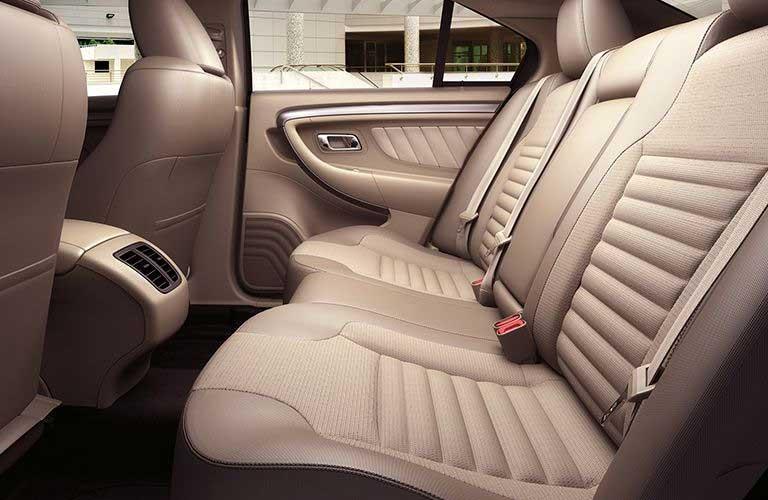 Ford Taurus rear passenger seats