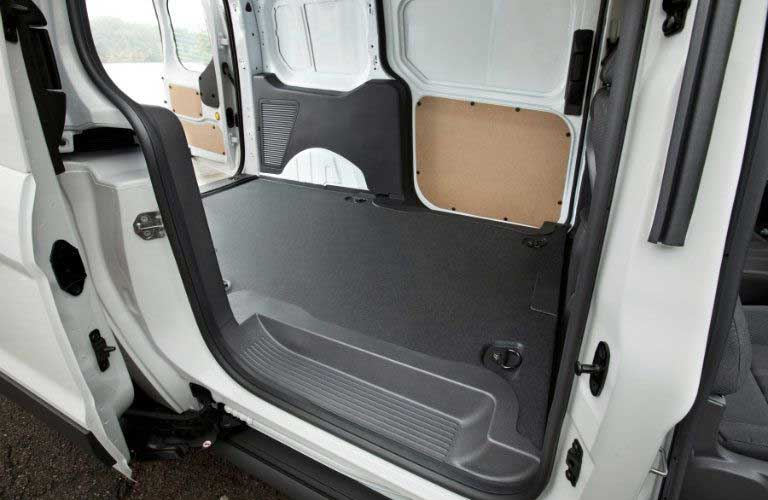 Ford Transit Connect Cargo Van rear cargo area