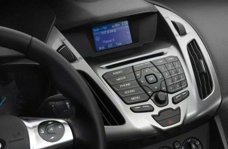 Ford Transit Connect Cargo Van dashboard