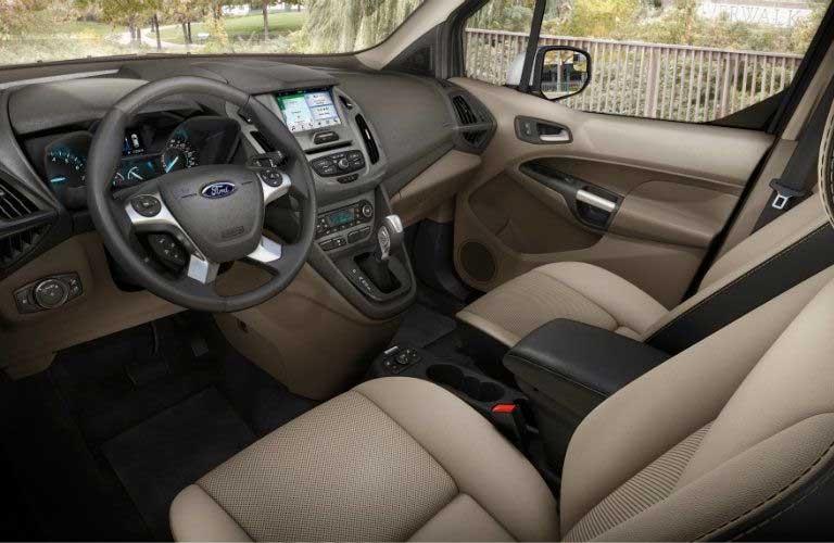 Ford Transit Connect Cargo Van front passenger seats
