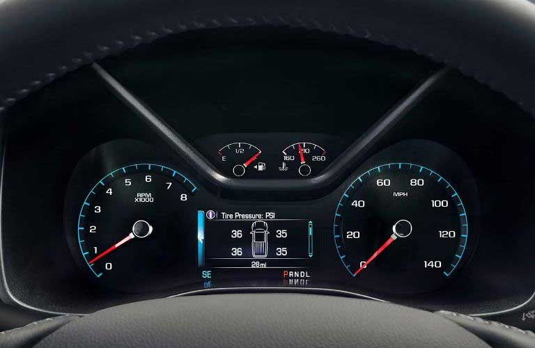 GMC Canyon performance gauges