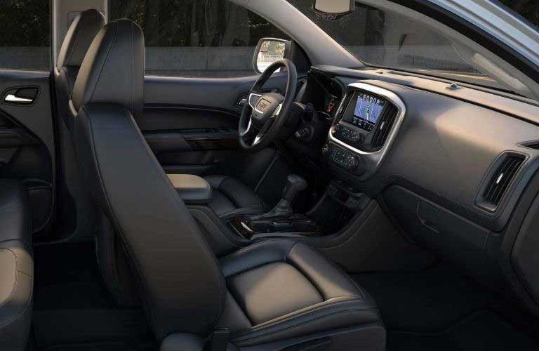 GMC Canyon front passenger seats