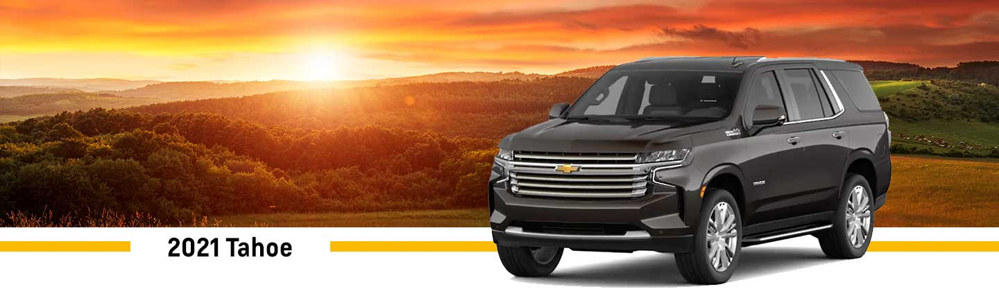 All-New 2021 Chevrolet Tahoe in Effingham, near Decatur, IL