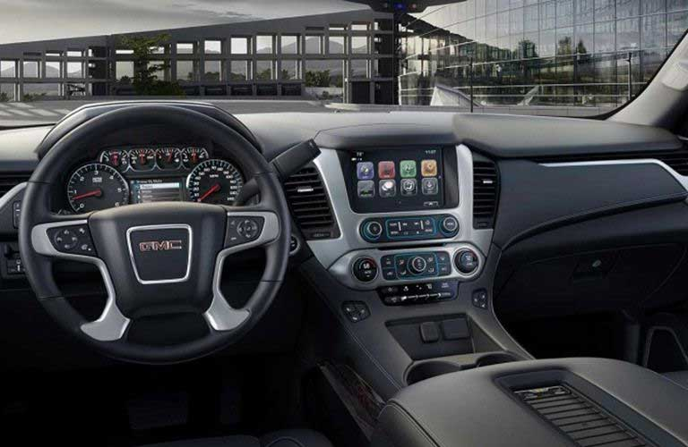 2017 GMC Yukon dashboard