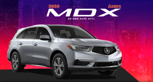 2020 Acura MDX SH-AWD BASE 6 Cyl