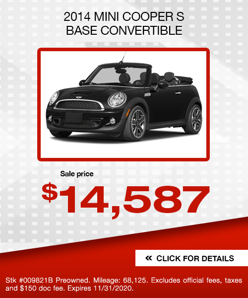 2014 Mini Cooper S Base Convertible