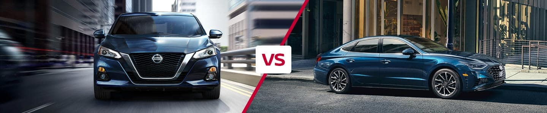Comparing the 2021 Nissan Altima Against the 2021 Hyundai Sonata