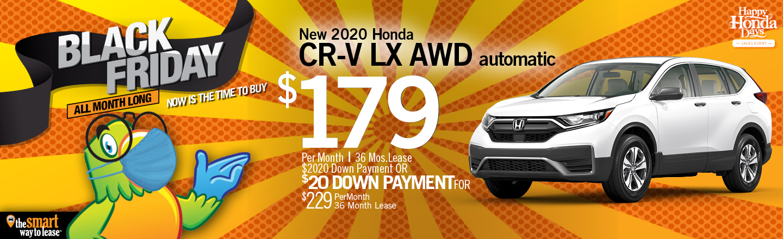 Black Friday Special 2020 CR-V LX AWD