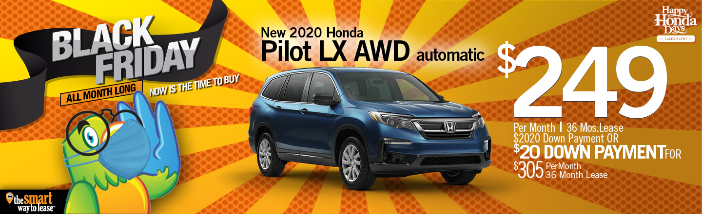 Black Friday Special 2020 Pilot LX AWD