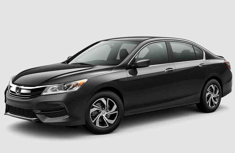 Front Quarter profile of the 2017 Honda Accord on a white background