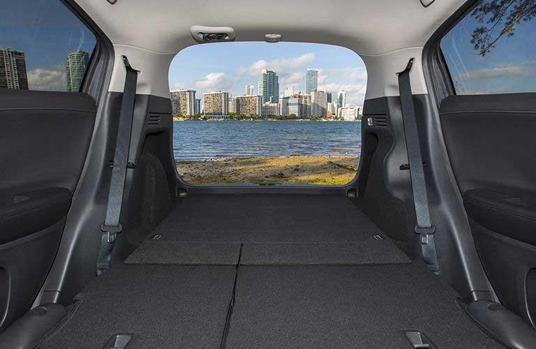 Honda HR-V rear cargo area
