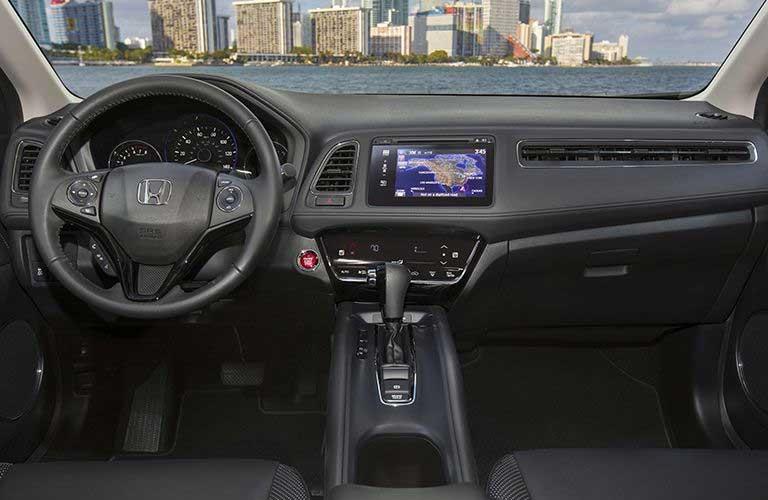 Honda HR-V dashboard features
