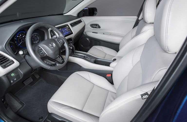 Honda HR-V front seats and dashboard
