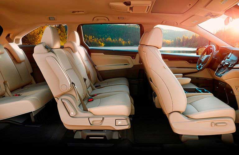 Honda Odyssey interior passenger seats