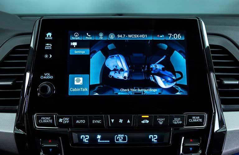 Honda Odyssey camera system