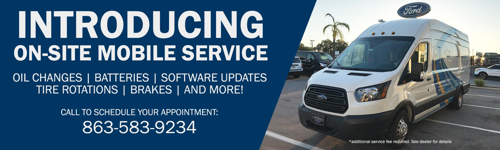 Lakeland Ford Mobile On-Site Services | Easy, Convenient and Hassle Free
