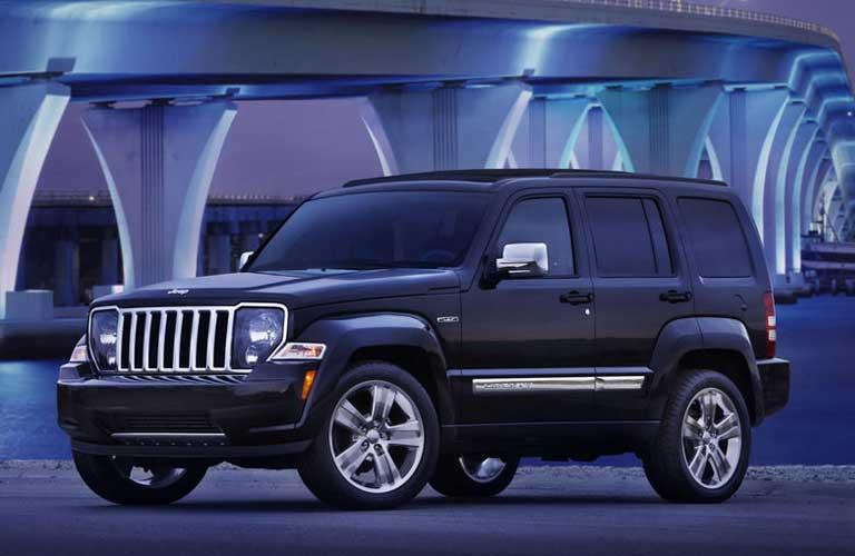 Jeep Liberty side profile