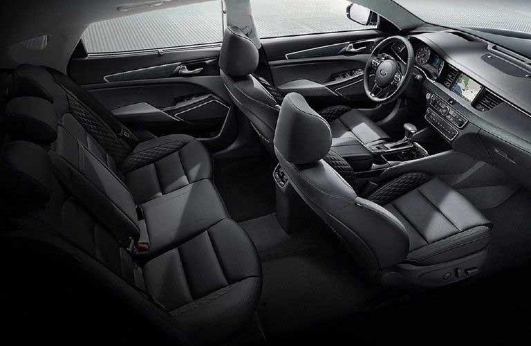 Seats inside the 2019 Kia Cadenza