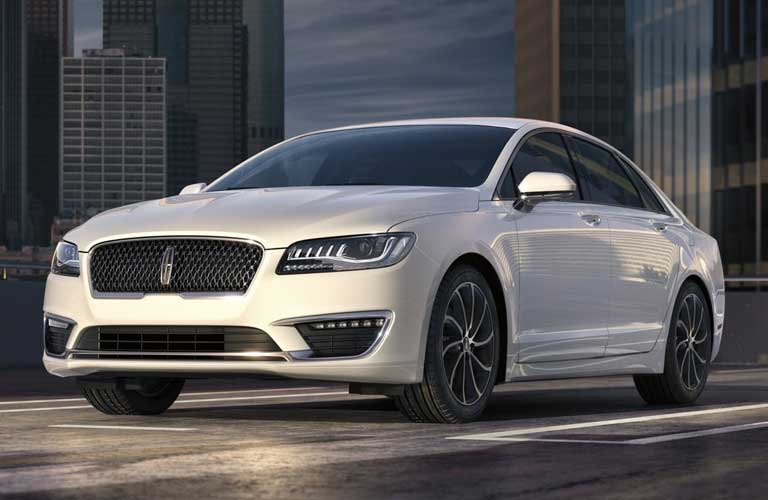 2020 Lincoln MKZ parked on a rooftop