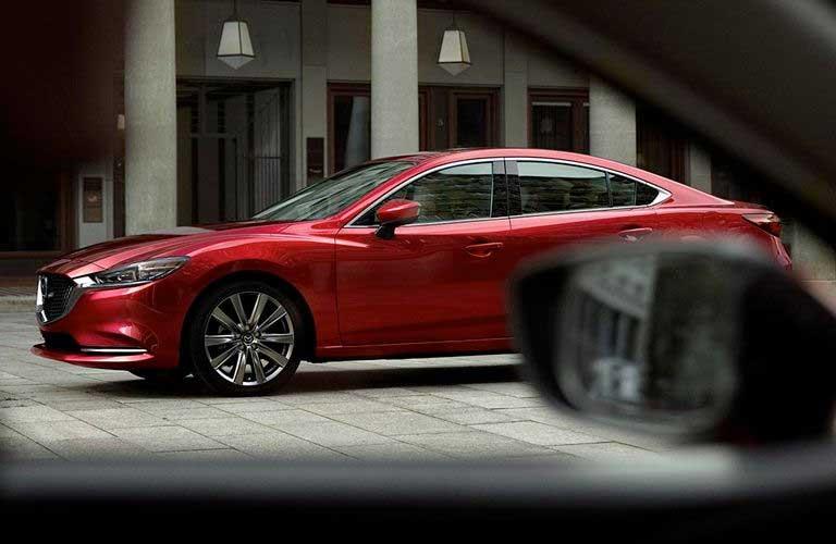 2018 Mazda6 side profile