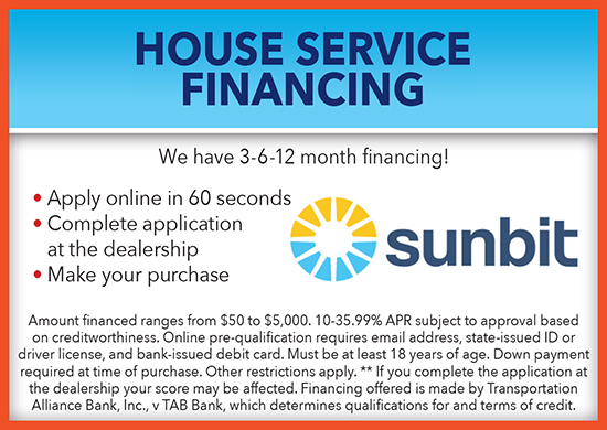 House Service Financing