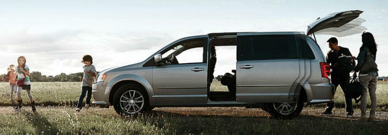 Dodge Grand Caravan side profile