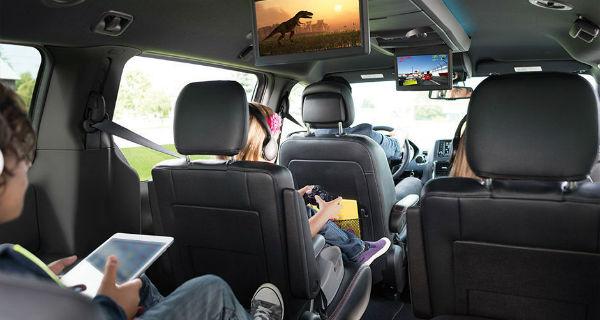 Dodge Grand Caravan rear-seat entertainment system