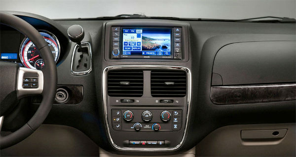 Dodge Grand Caravan dashboard