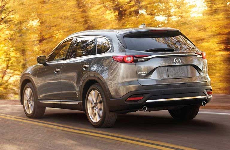 Mazda CX-9 driving on a road
