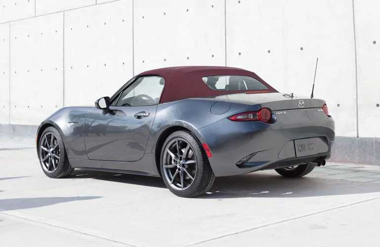 Mazda MX-5 Miata rear and side profile