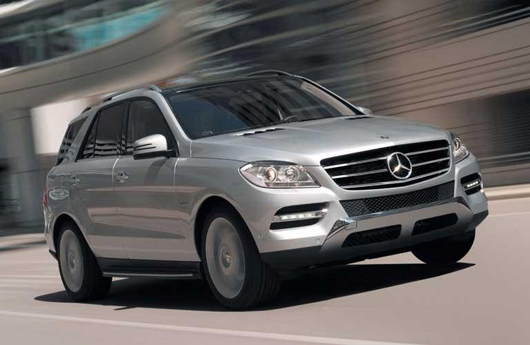 Mercedes-Benz GL-Class side profile