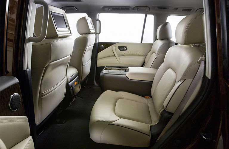 Nissan Armada second-row seats